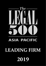 The Legal 500 ASIA PACIFIC 2019