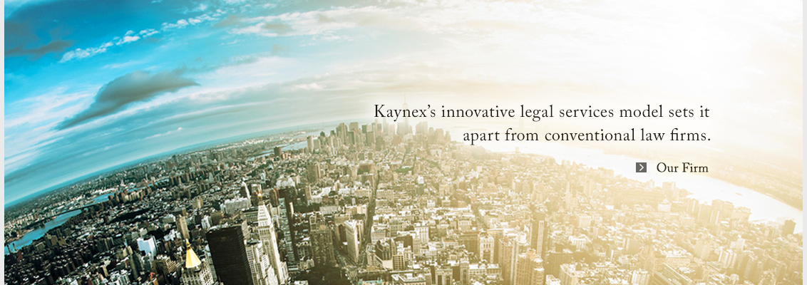 Kaynex's innovative legal services model sets it apart from conventional law firms.